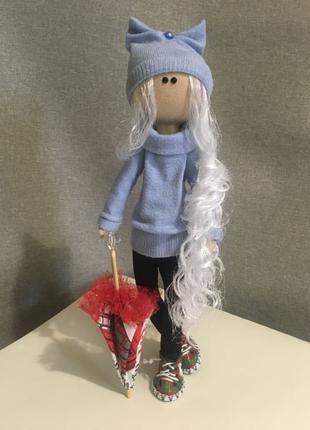 интерьерная стильная кукла Тильда
