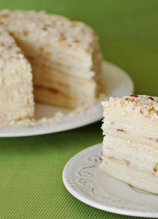 Торт на заказ. Наполеон.