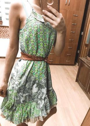 Cтильное платье-сарафан, бренд