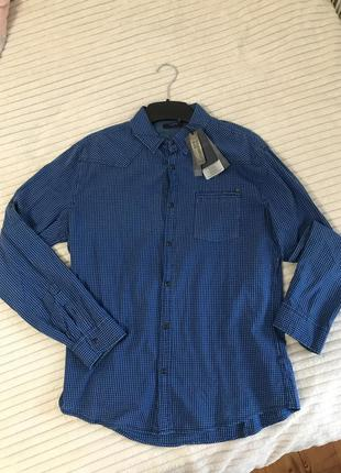 Мужская клетчатая рубашка colin's новая🔥