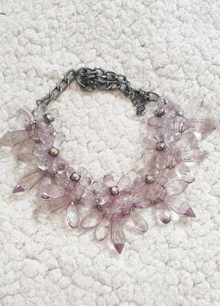 Ожерелье цветочное в идеальном состоянии