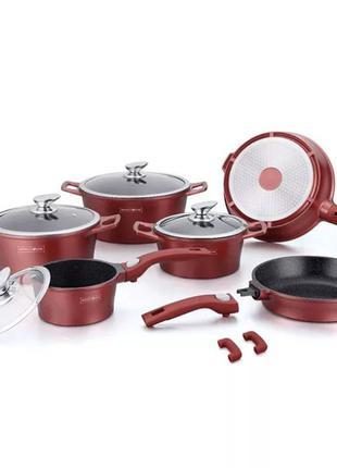 Набор посуды с мраморным покрытием Royalty Line RL-ES2014M