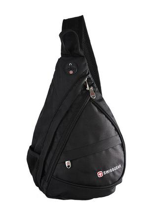 Стильная сумка-рюкзак swissgear bag на одно плечо