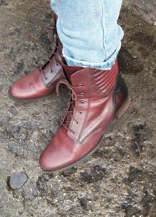 Шикарные ботинки 28.5 см.обуви 1000 пар тут!!!