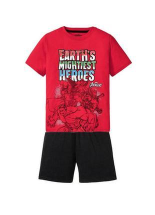 Пижама для мальчика с героями marvel