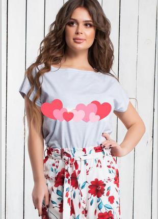 Яркие шорты с поясом цветочный принт красные цветы