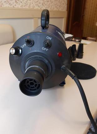 Фен-компрессор для собак
