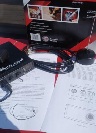 Авто - Рация Радиостанция CB 27 мгц для дальнобойщиков + Антенна