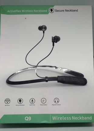 Блютуз наушники 5.0. Bluetooth наушники на шею.