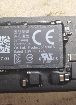 Диск SSD M.2 128 Gb Samsung MZ-JPV128S/0A2 для Apple Macbook