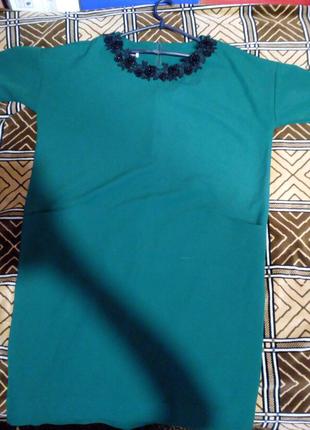 Сукня, зелена