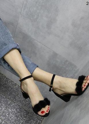 👟босоножки женские на каблуке / наложенный платёж👟