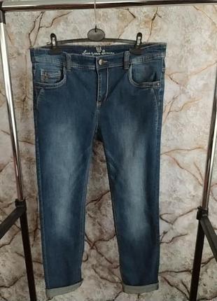 Женские джинси бойфренди большого размера