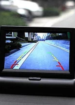 Автомобильный Монитор Складной для камеры заднего вида 4,3″ JL403