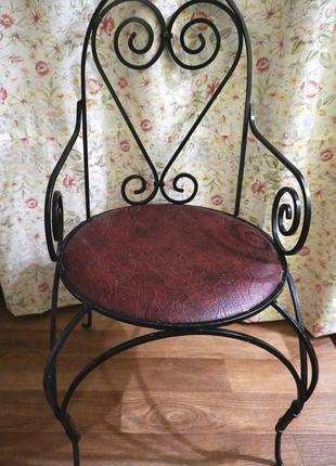 Кований стул