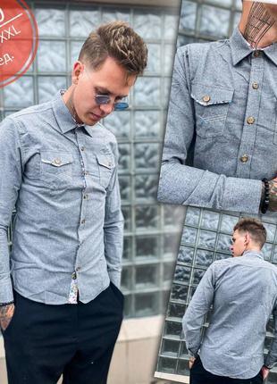 Скидка стильная мужская рубашка есть размеры и цвета