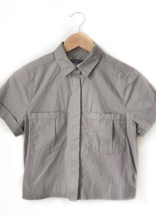 Бесподобная рубашка рубаха топ, укорочённая болеро, allsaints