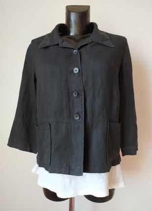 🌿летний пиджак на каждый день , 100% лен