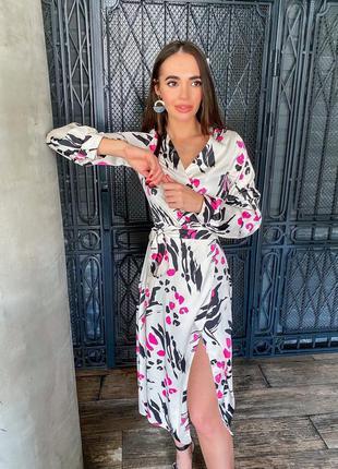 Платье на запах виола на размер 42-44