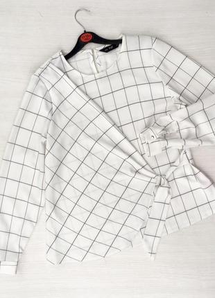 Актуальная стильная блузка f&f