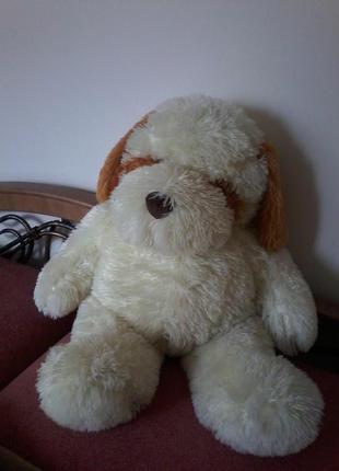 Большой мягкий пес, рост 80 см