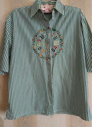 Блуза/рубашка с вышивкой