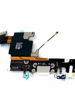 Шлейф для iPhone 6S, с разъемом зарядки, с коннектором наушников,