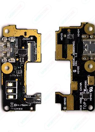 Шлейф для Asus ZenFone 5 (A500CG 2014/A501CG 2015), с разъемом за