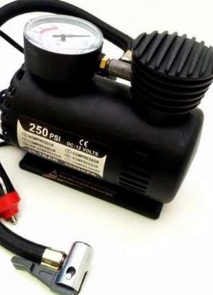 Автомобильный компрессор Air Pomp MJ004, для подкачки шин, автона