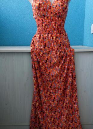 Мега крутое женское платье в пол