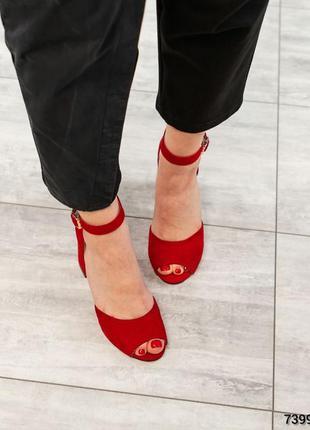 Элитная коллекция!  туфли открытые  натуральная итальянская замша