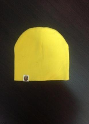 Хлопковая детская шапка