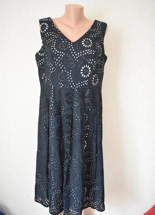 Натуральное кружевное платье