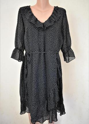 Красивое платье в горошек george