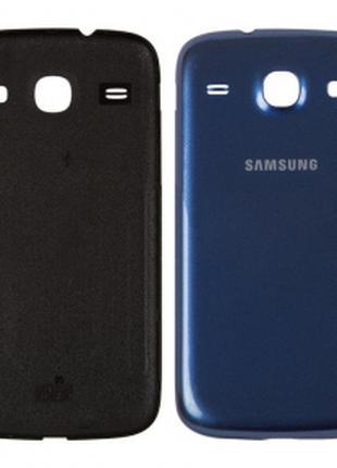 Задняя крышка Samsung i8260 Galaxy Core/i8262, синяя, оригинал (К