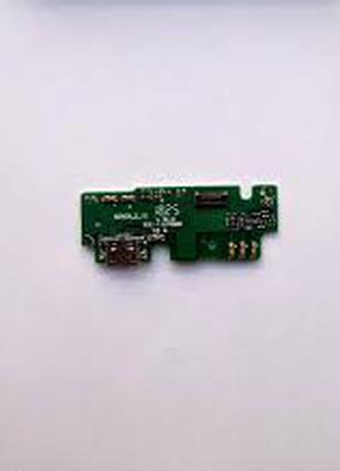 Шлейф для Lenovo K6 Note (K53a48), с разъемом зарядки, с микрофон