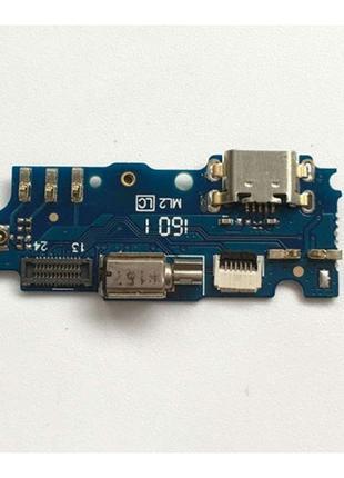 Шлейф для Meizu M2 /M2 mini (M578), с разъемом зарядки, с микрофо