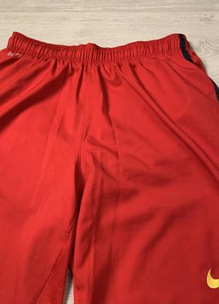 Червоні шорти nike