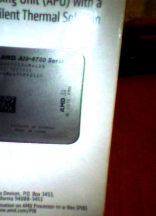 Процесор AMD A10-9700