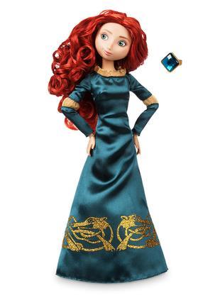 Классическая кукла принцесса Дисней Мерида с кольцом