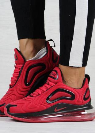 Крутые женские кроссовки nike air max 720 красные