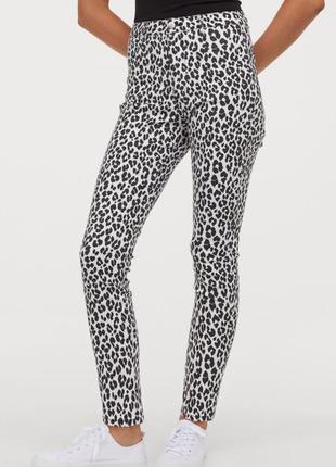 Джинсы-брюки h&m - skinny. размер w 30 (европ. 44)