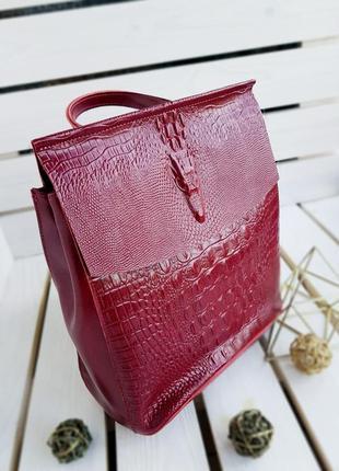 👜 женский кожаный рюкзак 👜