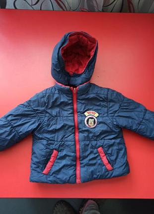 Курточки на мальчика 1-3 года