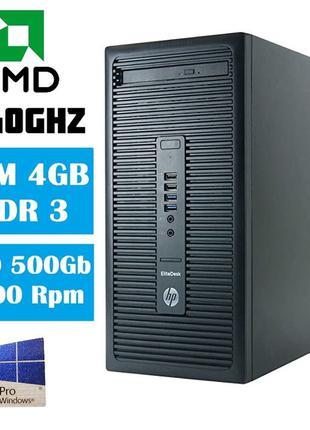 Комп'ютер HP EliteDesk 705 G1/AMD A10-6800B to 4.40Ghz/RAM 4Gb...