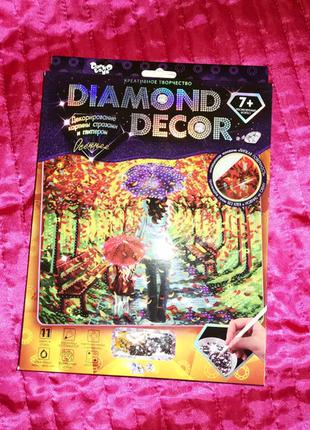 Diamond decor набор для творчества 7+ лет
