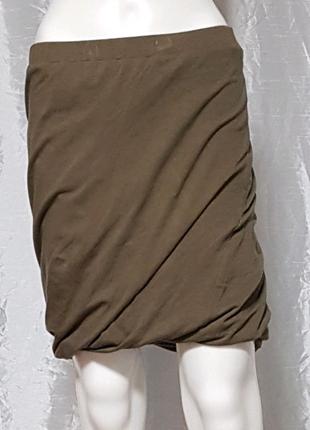 Необычная юбка с подворотом внизу
