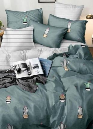 Комплект постельного белья кактус