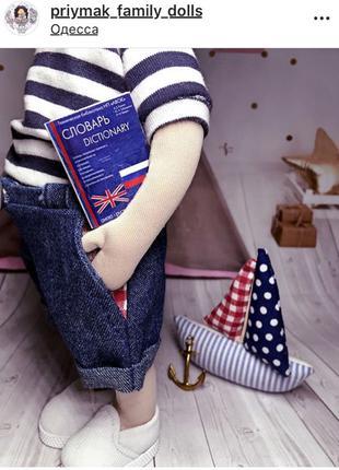 текстильная интерьерная кукла лялька текстильна