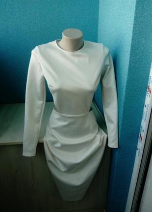 Мега крутое эффектное женское платье открытые бока